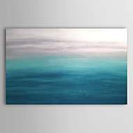 Hand-Painted Abstract / Abstract LandscapeModern One Panel Canvas Oil Painting For Home Decoration