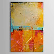 Hand-Painted Abstract Vertical,Traditional Classic One Panel Oil Painting For Home Decoration