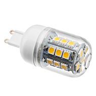 billige Kornpærer med LED-BRELONG® 1pc 3 W 2800 lm G9 LED-kornpærer T 27 LED perler SMD 5050 Varm hvit 220-240 V