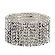 Tênis Pulseiras imitação de diamante Original Moda Jóias Jóias 1peça