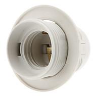 E27 Base Bulb Screw Thread Socket Lamp Holder (White) High Quality