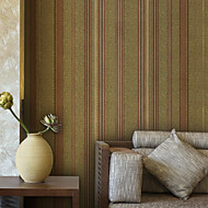 Moderne Strip PVC Wall Paper 1304-0062