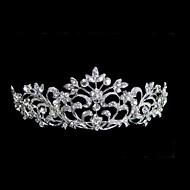 女性のラインストーン合金ヘッドピース - 結婚式のティアラエレガントなスタイル