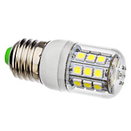 billige Kornpærer med LED-3.5W 250-300lm E26 / E27 LED-kornpærer 30 LED perler SMD 5050 Naturlig hvit 220-240V / 110-130V