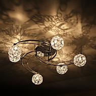 LWD Flush Mount Ambient Light - Crystal, Modern / Comtemporary, 110-120V 220-240V Bulb Included