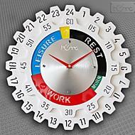 """baratos -Relógio de parede de 24 """"estilo h engrenagem"""