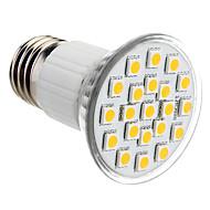billige Spotlys med LED-150lm E26 / E27 LED-spotpærer PAR38 21 LED perler SMD 5050 Varm hvit 220-240V