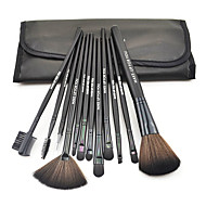12 Brush Sets Andre Nylon Børste Syntetisk Hår Begrænser bakterier Ansigt Læbe Øjne MAKE-UP FOR YOU
