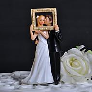 Figure za torte Klasični Tema Par Classic s Cvijet Poklon kutija
