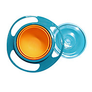 Gravity Bowl morsbestendig Kids Snack Food Dish + Deksel No Mess Vaatwasser