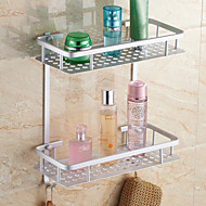 浴室棚 / アルミニウム アルミ /コンテンポラリー