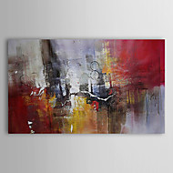 Hand-Painted Abstract Horizontal,Traditional One Panel Canvas Oil Painting For Home Decoration