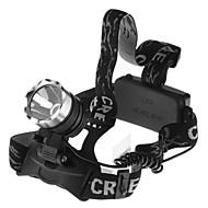 3 Čelovky Přední světla LED 1600 lm 1 Režim s bateriemi Voděodolné Kempování a turistika Cyklistika Rybaření Práce Lezení