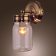 billige Utendørs Lampeskjermer-Traditionel / Klassisk Til Metall Vegglampe 110-120V 220-240V Max 60WW