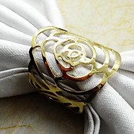 1Pc Gold / Silver Metal Napkin Ring Home Decorations Napkin Collection