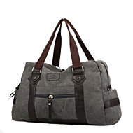 Men Bags All Seasons Canvas Travel Bag for Casual Gray Olive Brown Cream Khaki