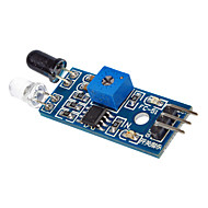 sensor de luz LM393 sensibilidade fotossensível módulo sensor de luz para (para arduino) cabos du pont gratuitos