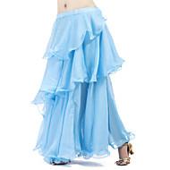 ベリーダンス スカート 女性用 訓練 シフォン 多層 ラッフル スカート