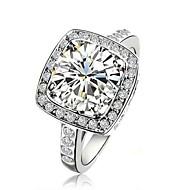 claic lady '2.5ct claro imulated diamante casamento estilo elegante