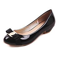 baratos Sapatos de Tamanho Pequeno-sapatos femininos bombas toe calcanhar rodada baixo sapatos mais cores disponíveis