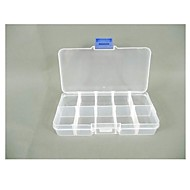 billige Lagring og oppbevaring-plast firkantet formet husholdning oppbevaringsboks sak hjem arrangør ørering smykker container