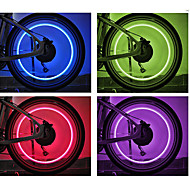 billige Sykkellykter og reflekser-Sykkellykter / Blinkende ventillys / hjul lys LED Sykling Cellebatterier Batteri Sykling - FJQXZ