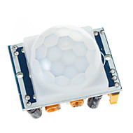 HC-SR501 Ajuste IR infravermelho piroelétrico PIR Módulo Detector de Movimento