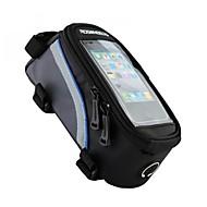 ROSWHEEL Vesker til sykkelramme Mobilveske 4.2/5.5/6.2 tommers Reflekterende Stripe Vanntett Anvendelig Skliresistent Berøringsskjerm