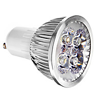 4W GU10 LED Spotlight 4 leds Cold White 400lm 6000K AC 85-265V