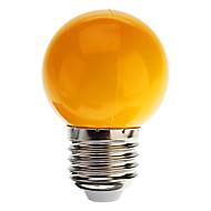 billige Globepærer med LED-1W 100-150 lm E26/E27 LED-globepærer G45 7 leds Dyp Led Dekorativ Kjølig hvit Grønn Gul Blå Rød AC 220-240V