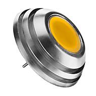 billige Globepærer med LED-2W 3000 lm G4 LED-globepærer 1pcs leds COB Dekorativ Varm hvit DC 12 V