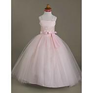Vestido de vestidos de noiva com vestido de bola vestido de menina de flor - Tiras de espaguete sem mangas de tul sweetheart by lan ting bride®