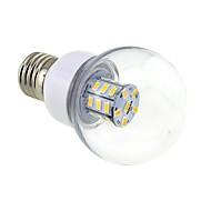お買い得  LED電球-4W 3000-3500 lm E26/E27 LEDボール型電球 G60 27 LEDの SMD 5730 温白色 DC 24V AC 24V AC 12V DC 12V