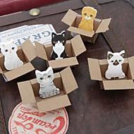billige Kontor Supply & Dekorasjoner-små kartong dyr leketøy selvklebende notater (tilfeldig farge)