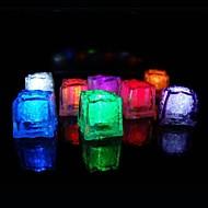 36pcs culoare schimbarea cuburi de gheață a condus lumina petrecere nunta bar restaurant