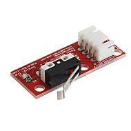 020805 rampas de final de curso 1.4 fim de curso mecânico para impressora 3D - vermelho
