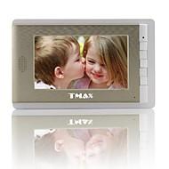 "billige Dørtelefonssystem med video-tmax® 7 ""lcd fotografere video dør telefon med 500tvl nattsyn kamera"