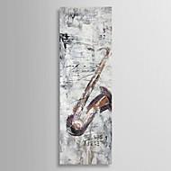 billiga Stilleben-Hang målad oljemålning HANDMÅLAD - Stilleben Samtida Duk