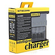 I4 Chargers Quick Charging High Quality for Lithium Ion Nickel Metal Hydride Nickel Cadmium 26650, 22650, 18650, 17670, 18490, 17500,
