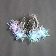 クリスマスパーティーの結婚式のためのストリングの妖精ライトを変更する10-LED 1.5Mバッテリ駆動色