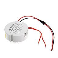 LEDシーリングランプ用のAC 85  -  265V円形の外部の定電流電源ドライバに0.3A 15〜18ワット直流40-70v