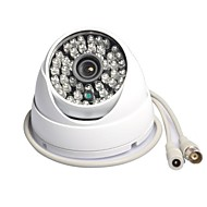 vanxse cctv 900tvl cmos IR-kutt dag / natt hd 48ir lysdioder innendørs dome sikkerhet kamera 3.6mm surveillamce kamera