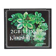 tanie Karty pamięci-Kingston 2GB elite pro 133x Compact Flash Karta pamięci CF