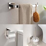 Kylpyhuonetarvikesetti / Ruostumaton teräs Ruostumaton teräs /Nykyaikainen