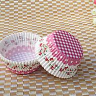 50 Piesă/Set Favor Holder-Coș Hârtie perlă Forme Hartie pentru Brioșe si Cutii Nepersonalizat