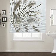 cheap Blinds & Shades-Ink Painting Style Alfa Roller Shade