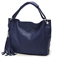 baratos Bolsas Tote-Mulheres Bolsas PU Tote / Bolsa de Ombro para Compras / Formal / Escritório e Carreira Vermelho / Azul / Khaki