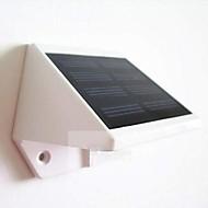 mlsled®0.6ワット4主導の白いミニ防水ソーラーフェンス/壁/ガーデンランプ - 白