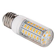 billige Kornpærer med LED-1pc 5 W 450 lm E26 / E27 LED-kornpærer T 56 LED perler SMD 5730 Varm hvit / Kjølig hvit 220-240 V
