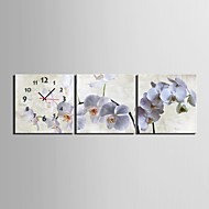 cheap Wall Clocks-Modern/Contemporary Canvas Square Indoor,AA Wall Clock